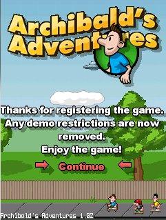 Archibalds Adventures v1.06 для Windows Mobile 5.0, 6.x for Pocket PC.